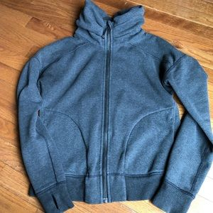 Gray Lululemon full zip sweatshirt